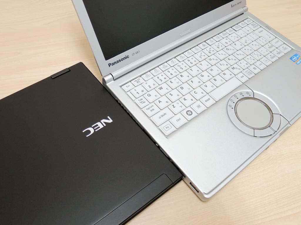 Hybrid ZEROとLet's Note