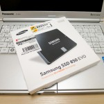 Let's note SX1と250GB SSD