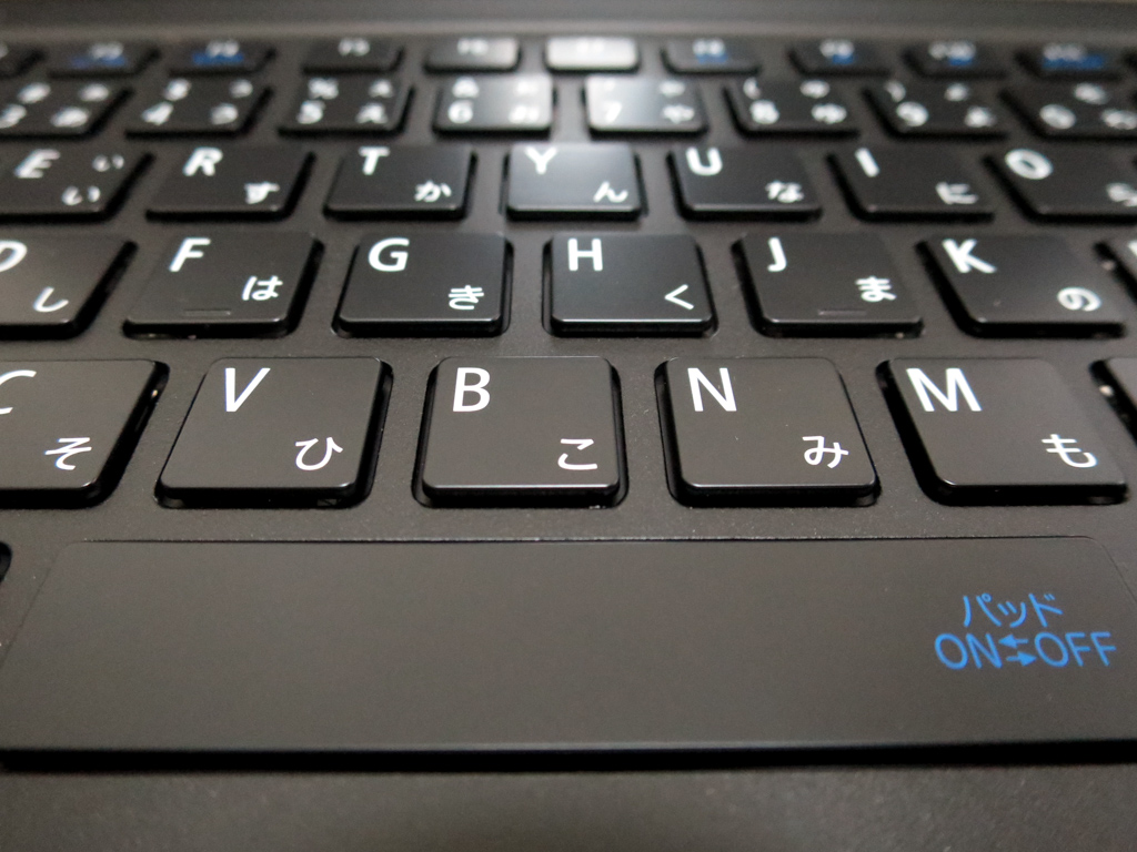 Hybrid ZEROのキーボード