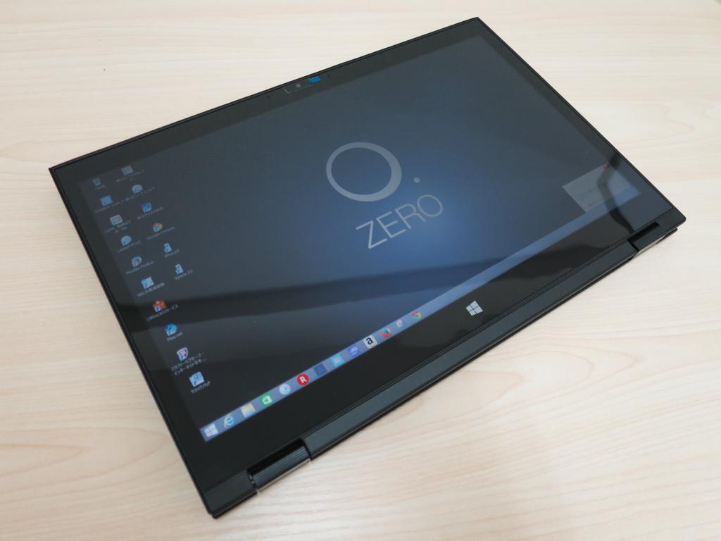 Hybrid ZEROのタブレットモード